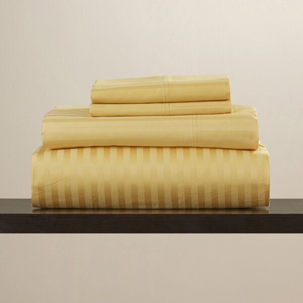 Engman 650 Thread Count 100% Cotton Sheet Set by The Twillery Co.